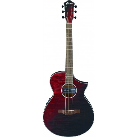 Ibanez -  AEWC32FM RSF Acousitc Guitar - Red Sunset Fade - 2019