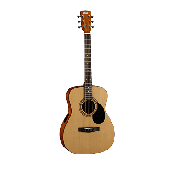 Cort AF510E Acoustic Electric Guitar - Natural