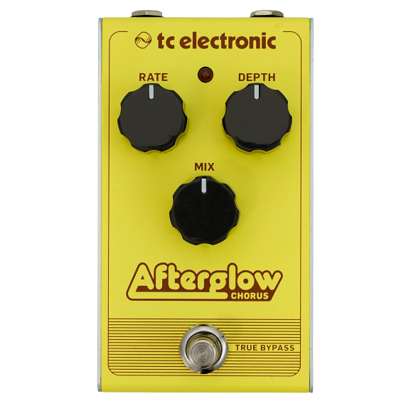 TC Electronic Afterglow Chorus Effects Pedal