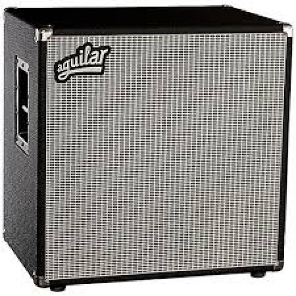 Aguilar 600 Watt Bass Speaker Cabinet 2x12 4ohm in Classic Black