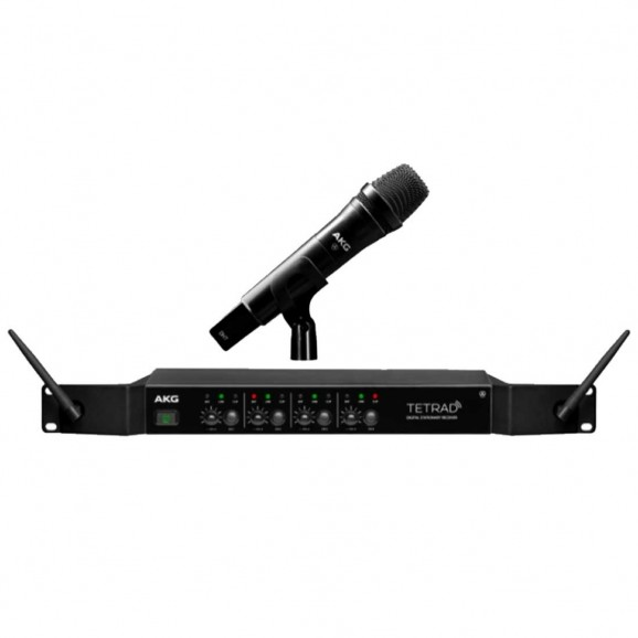 4Channel Wireless Vocal Set with D5 Handheld Microphone