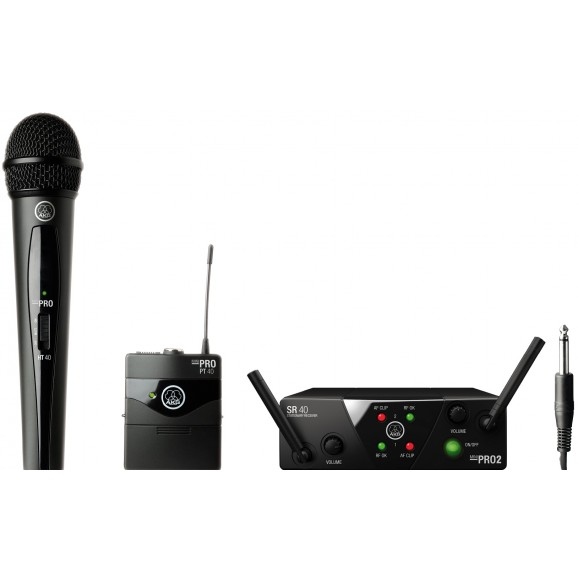 AKG WMS40 Pro Mini Dual Instrument/Microphone Wireless System