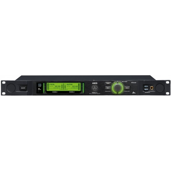 AKG DSR800 1RU Digital Dual Channel Receiver