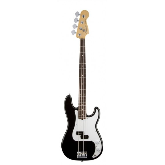 American Standard Precision Bass Rosewood Fretboard Black