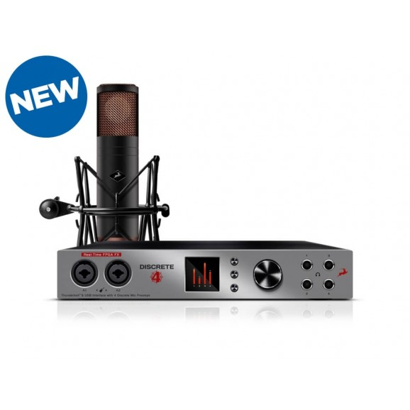 Antelope Audio - Discrete 4 Interface & Preamp & Edge Duo Modeling Mic