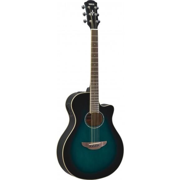 APX600 Acoustic Electric Guitar - Oriental Blue Burst