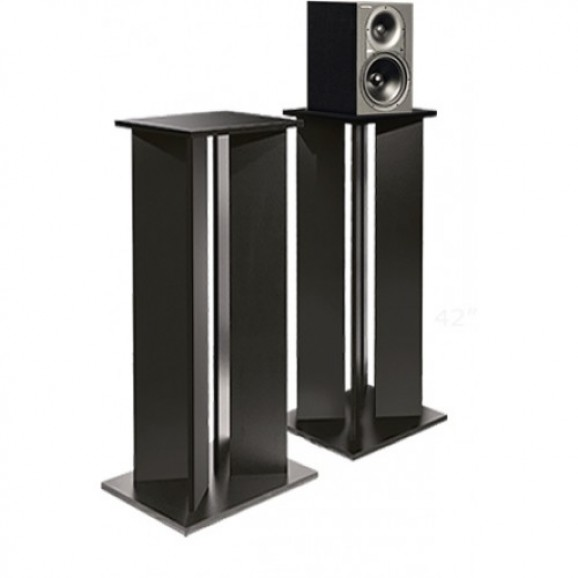 "Argosy Pair 42"" Studio Speaker Stands in Black - Pair"