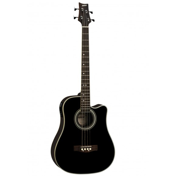 ACB100CEQ Acoustic Bass Guitar w/ Pickup - Black