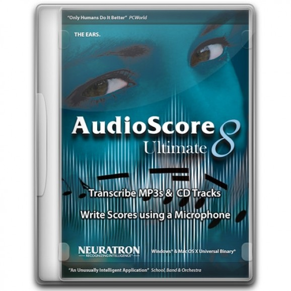 Avid AudioScore Ultimate 8