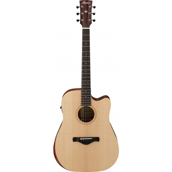 Ibanez -  AW150CE OPN Acoustic Guitar - Open Pore Natural - 2019