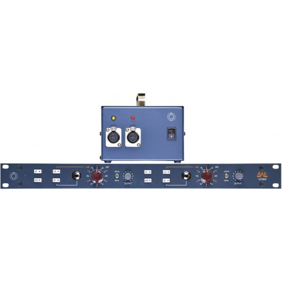 1073MP Dual Rackmount Mic Preamp With Power Supply