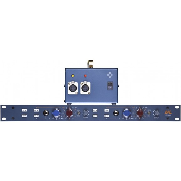 1073MPF Dual Channel Rackmount Mic Preamp With Power Supply
