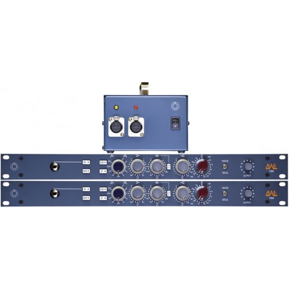 1084 1RU Rackmount And Module PAIR -With Power Supply