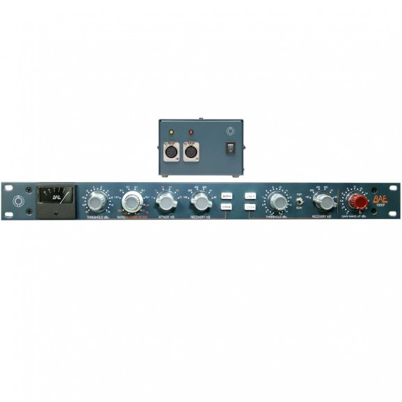 10DC Single Channel Compressor/Limiter With Power Supply