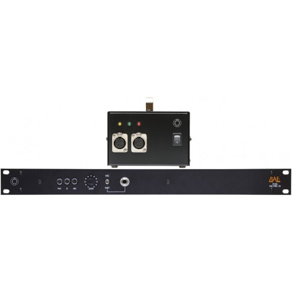 312A Single Mic Preamp Rackmount With Power Supply