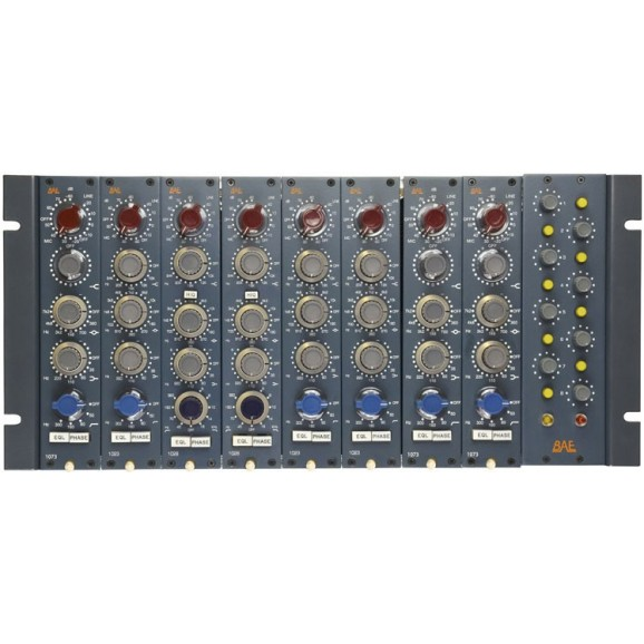 8 Channel Module Rack With Power Supply