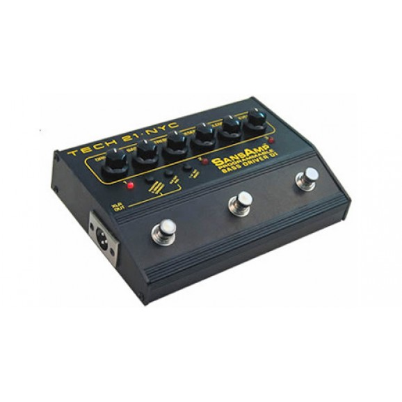Bass Driver Programmable DI Pedal