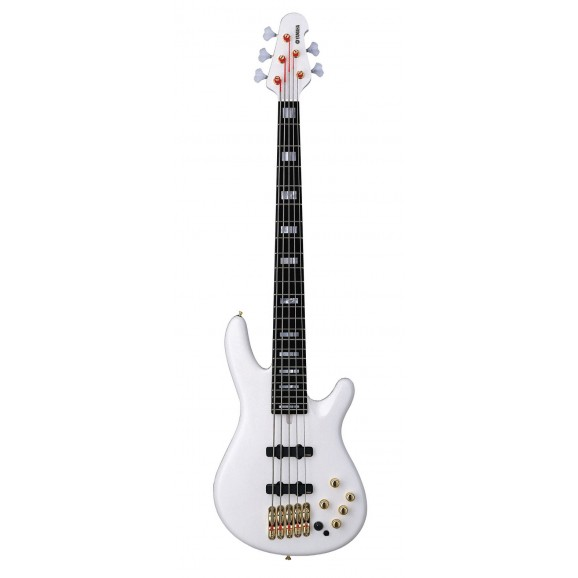 Yamaha BBNE2 Nathan East Bass White 5 String