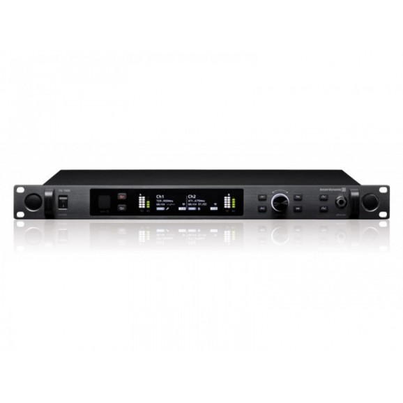 TG1000 Dante Enabled Digital Two-channel UHF true diversity Wireless Microphone Reciever - C