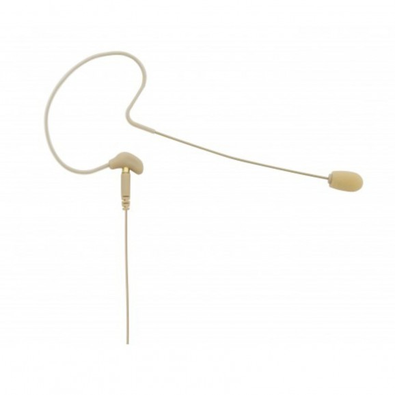Beyerdynamic TGH57C Condenser Earhook Microphone for Presentation Oder Moderations - Tan