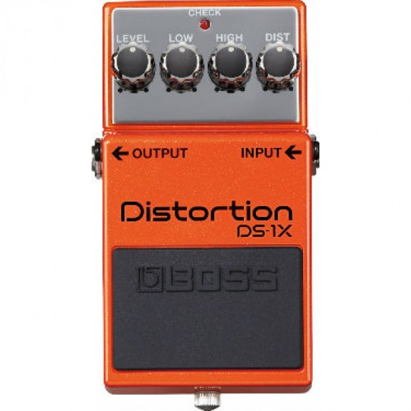 Boss DS-1X Special Edition Distortion Pedal with Premium Tone (DS1X)