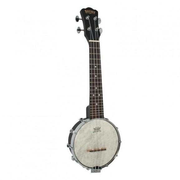 Bryden Open Back Banjo Ukulele in Satin Black