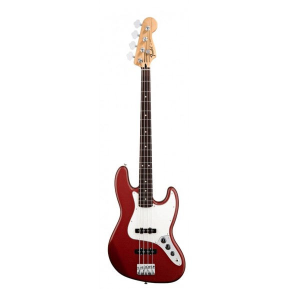Standard Jazz Bass® Rosewood Fretboard Candy Apple Red