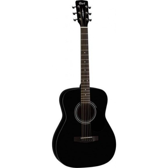 Cort AF510 Folk Guitar in Satin Black