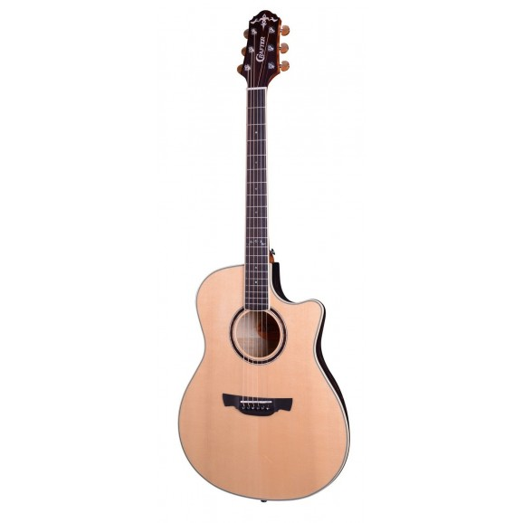Crafter WB700 Bowl Back Guitar with Solid Sitka Spruce Top