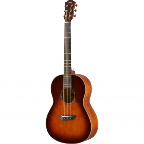 Yamaha CSF3M Travel Acoustic Guitar - Tobacco Brown Sunburst