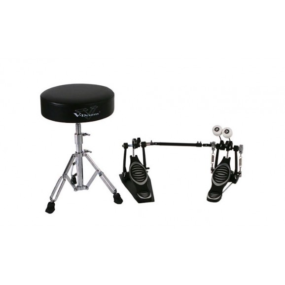 Roland DAPTD11BD (RDT10 Drum Throne and RKP10D Double Kick Pedal)
