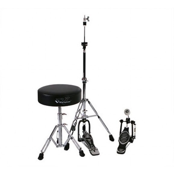 Roland DAPTD25B (RDT10 Drum Throne, RKP10 Single Kick Pedal and Hi-Hat Stand)
