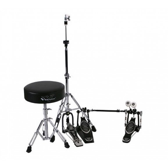 Roland DAPTD25BD (RDT10 Drum Throne, RKP10D Double Kick Pedal and RHH10 Hi-Hat Stand)
