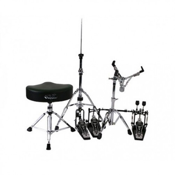 Roland DAPTD50BD (RDT50 Drum Throne, RKP50D Double  Kick Pedal, RHH50 Hi-Hat Stand and RSS50 Snare Stand)