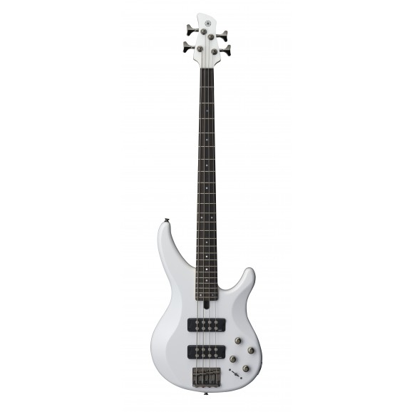 TRBX304 4 String Electric Bass Guitar White