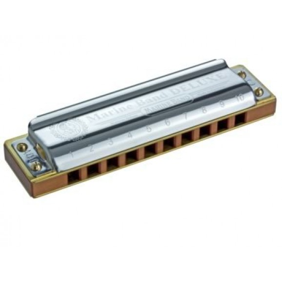 Hohner Marine Band Deluxe Harmonica Key Of B