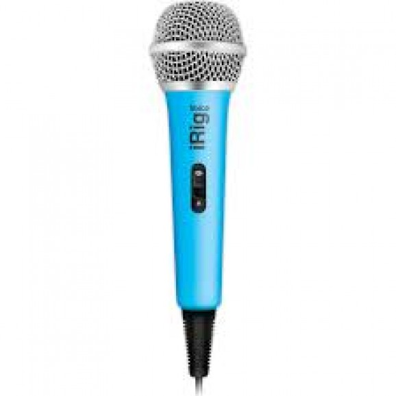 iRig Mic Voice Analog Handheld Mic - Blue