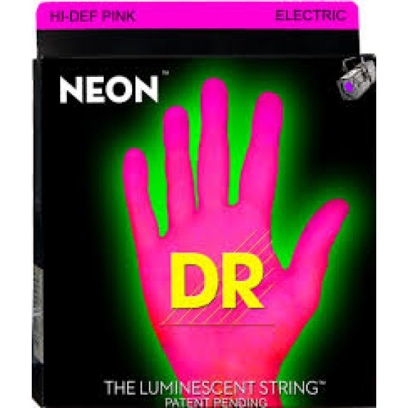 DR Strings 11-60 Neon Pink 7 String Electric Strings