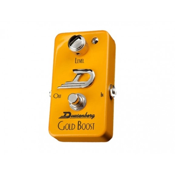 Gold Boost Guitar Pedal
