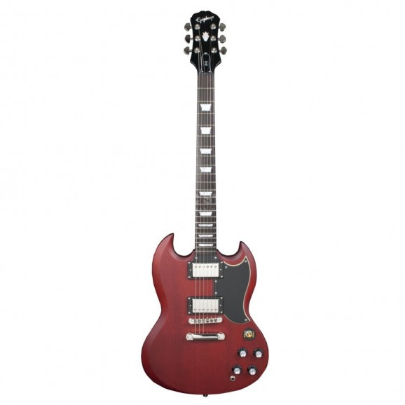 Epiphone Limited Edition 1966 SG G-400 Pro in Worn Cherry