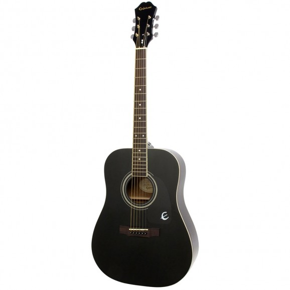 Epiphone DR-100 Acoustic Guitar in Ebony
