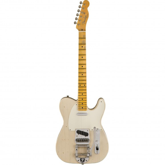 Fender CS 2017 Limited Twisted Telecaster Journeyman Relic in Aged White Blonde