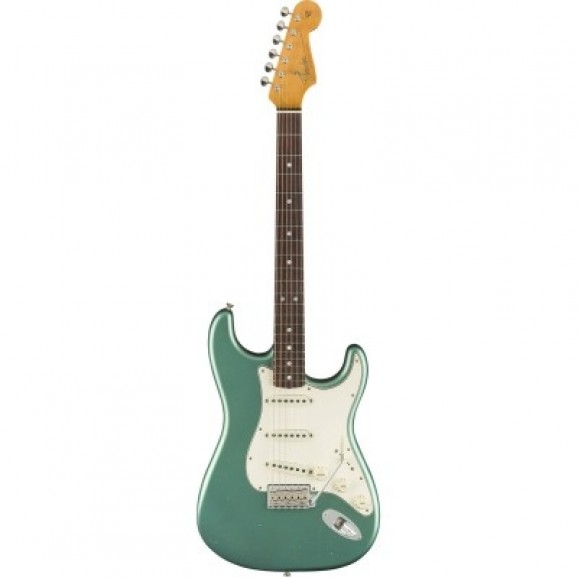 Fender CS '59 Stratocaster Journeyman Relic in Aged Teal Green Metallic