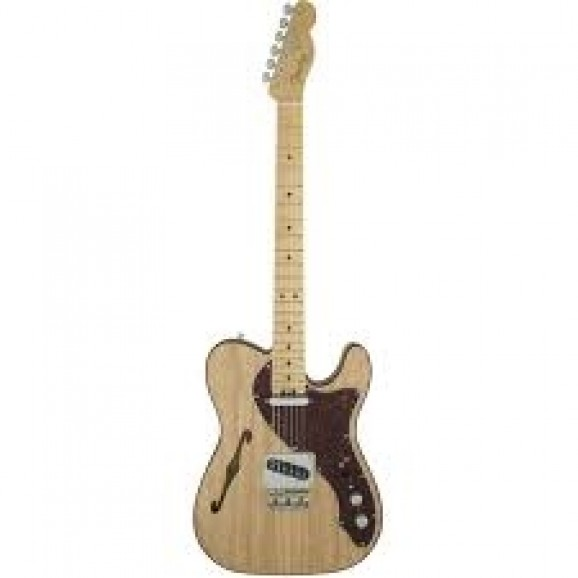 American Elite Telecaster Thinline MN (Natural) inc Case