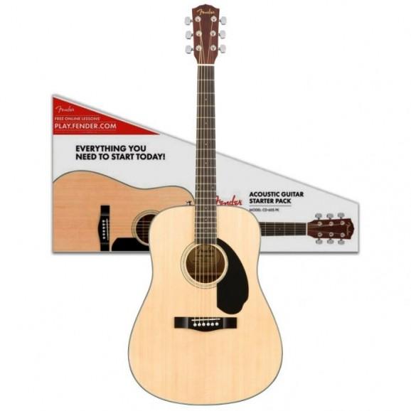 Fender − CD-60S Dreadnought Pack V2 Natural
