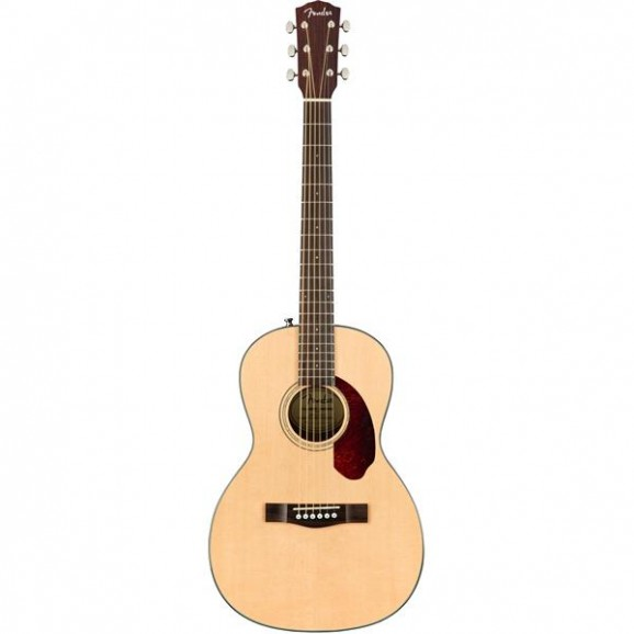 Fender CP-140SE Parlor Acoustic Electric Guitar - Natural with Case