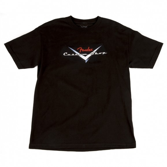 Fender Custom Shop Original Logo T-Shirt - Black