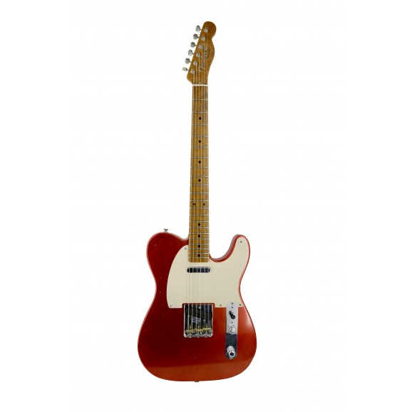 Fender Custom Shop Redhot Roasted Journeyman Relic'd Telecaster in Aged Candy Apple Red