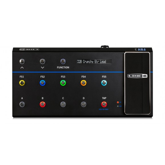 FBV3 Advanced Foot Controller For Line 6 Amplifiers