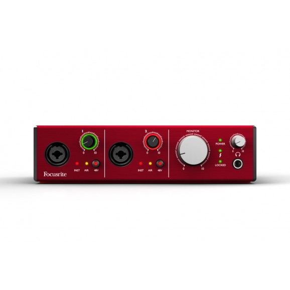 Focusrite Clarett 2Pre Audio Interface